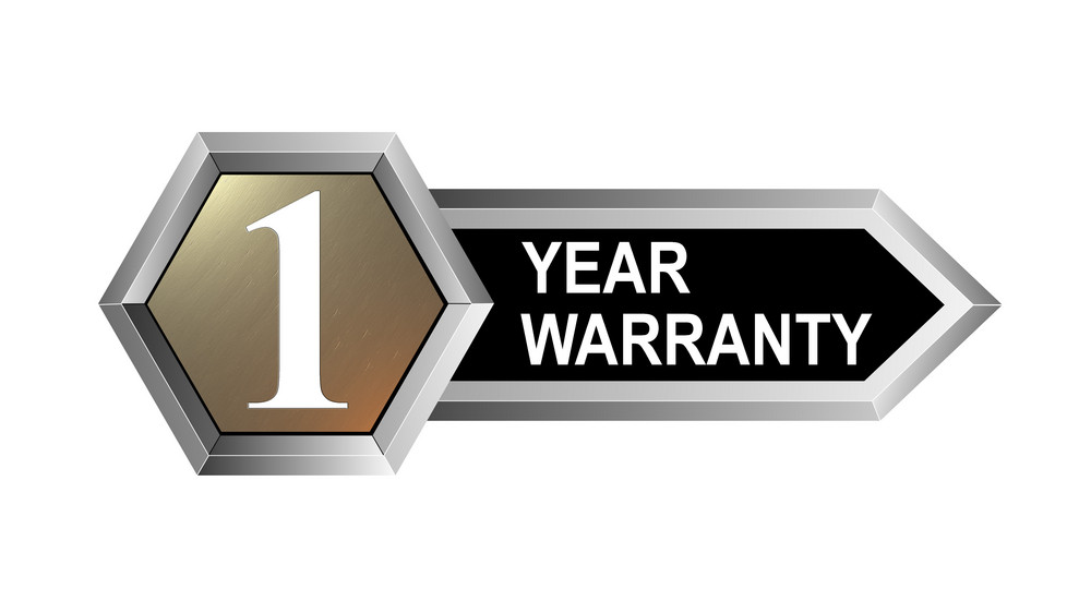 1 Year Warranty Hexagon Seal