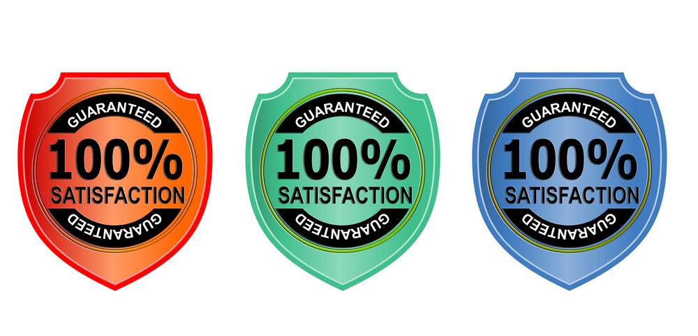 100% Satisfaction Guaranteed Gold Seal