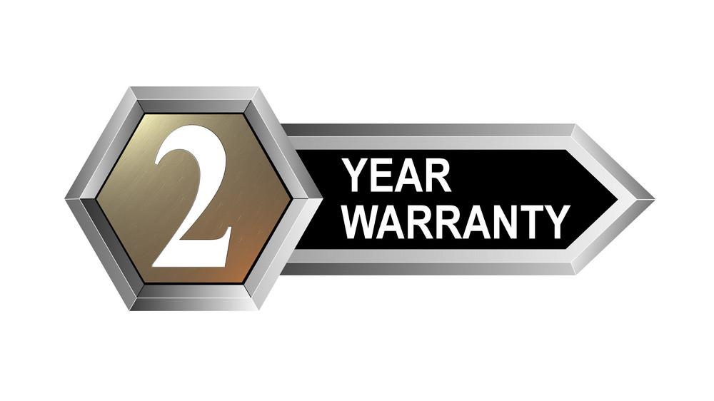 2 Year Warranty Hexagon Seal