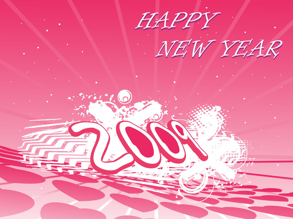 2009 New Year Composition