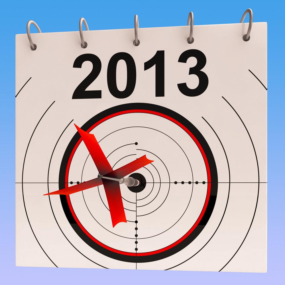 2013 Calendar Means Planning Annual Agenda Schedule