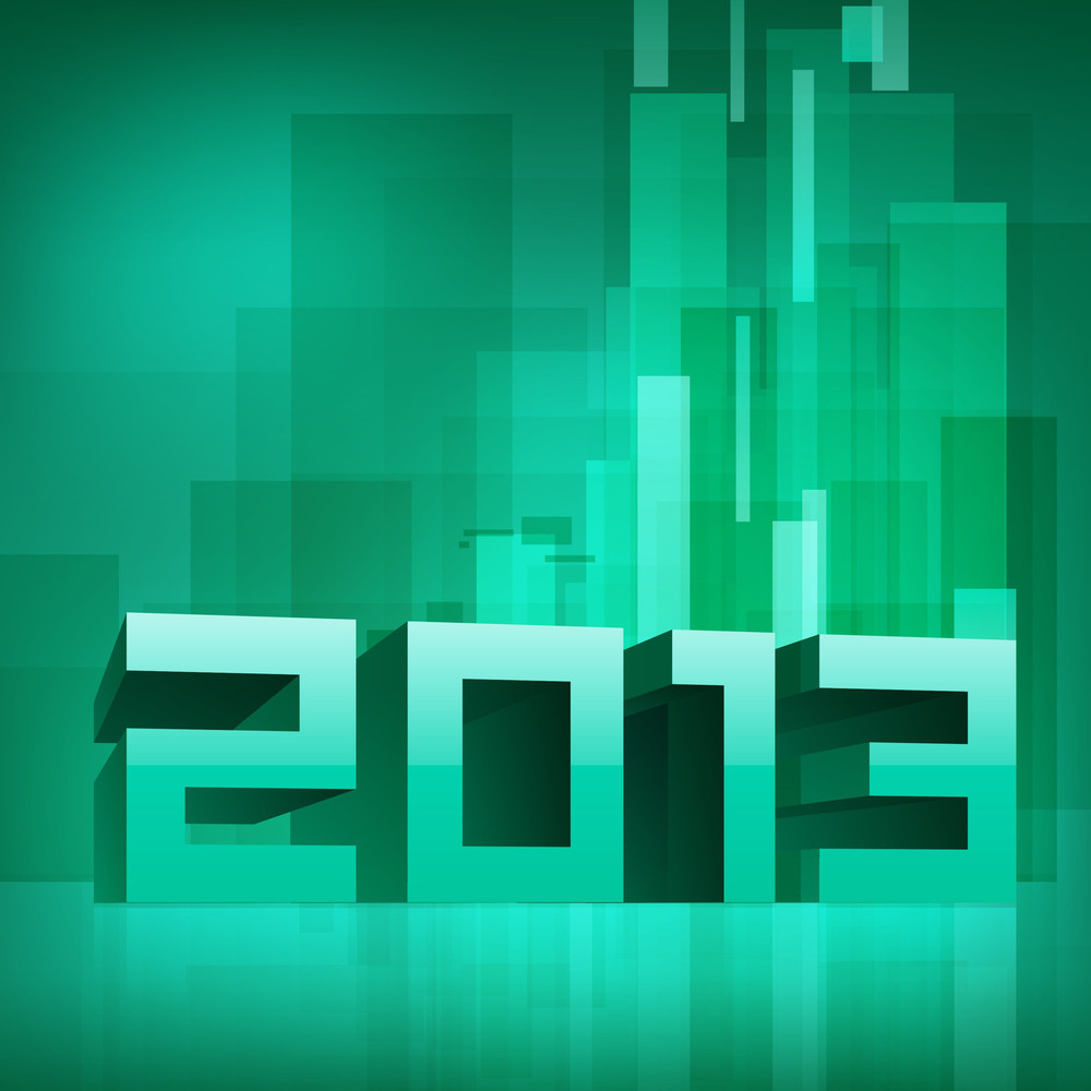 2013 Happy New Year Background