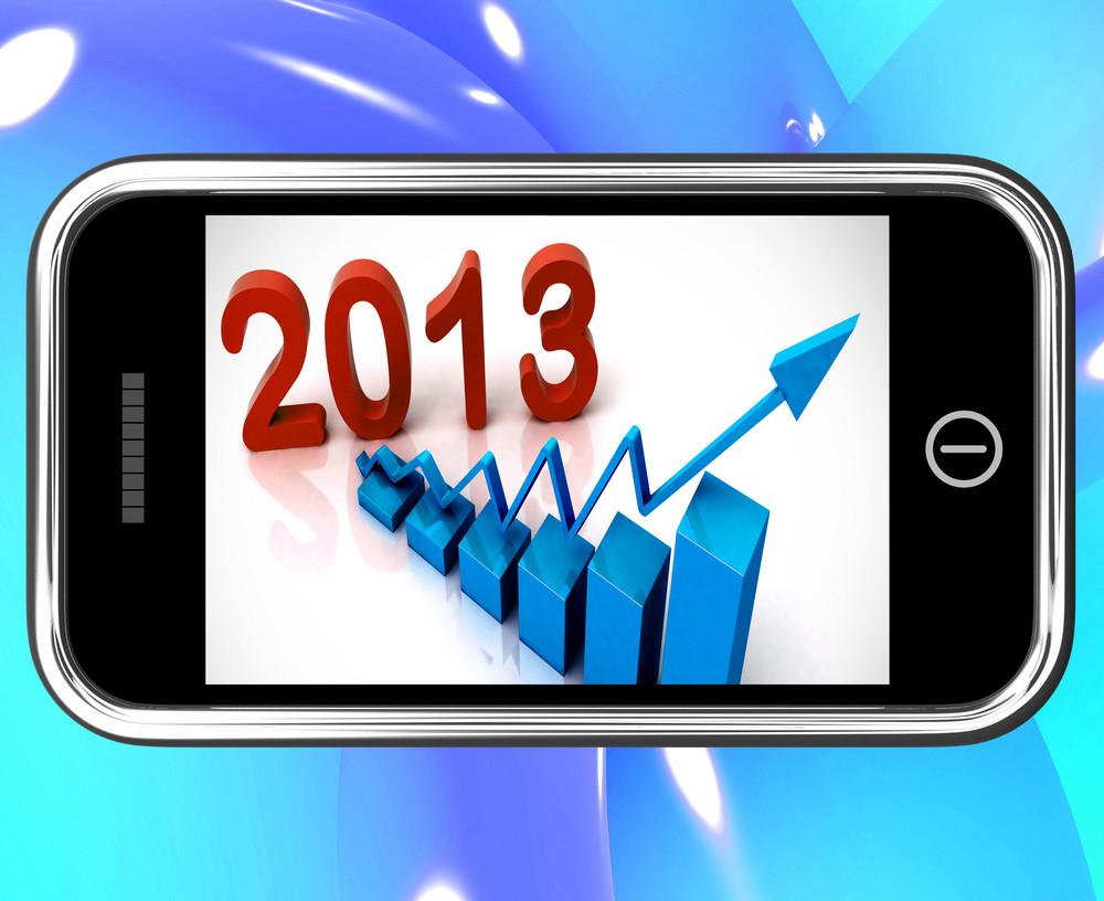 2013 Statistics On Smartphone Showing Future Progression