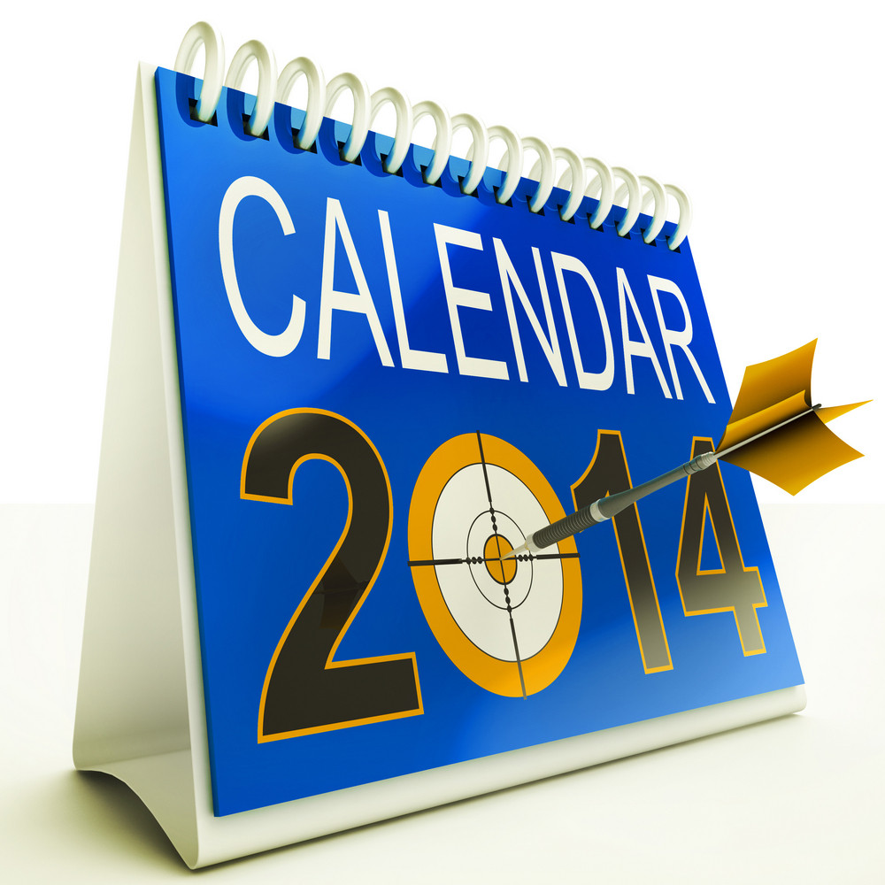 2014 Calendar Target Shows New Year Plan