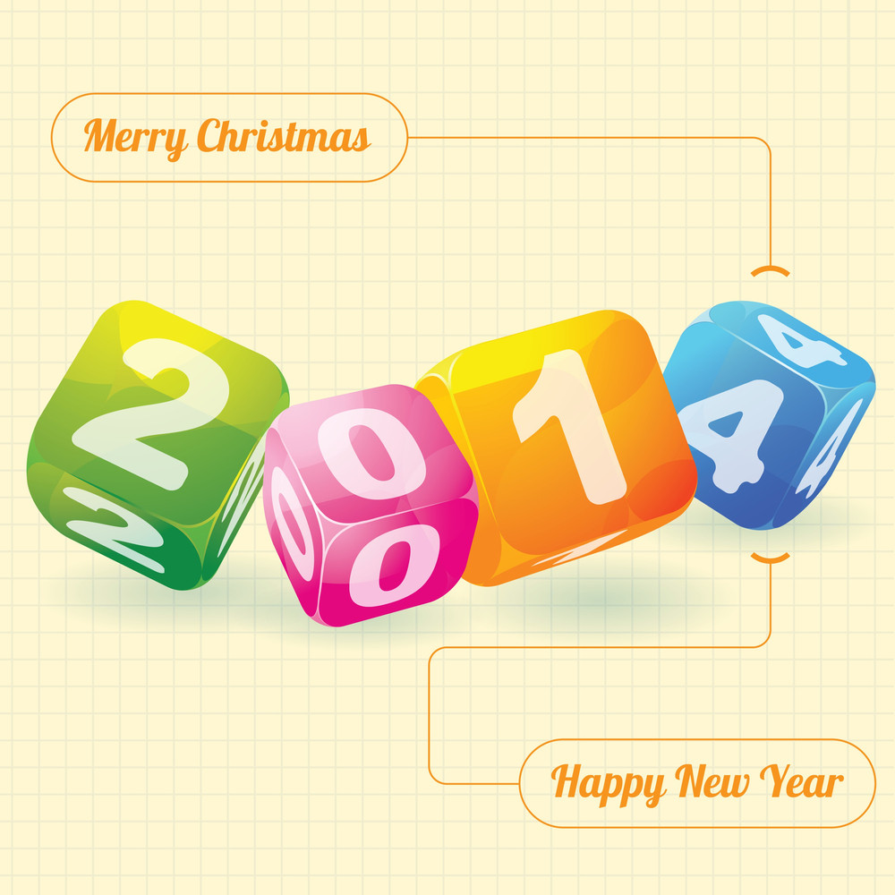 2014 year design element for calendar greeting cards sales 2014 year design element for calendar greeting cards sales stickers m4hsunfo
