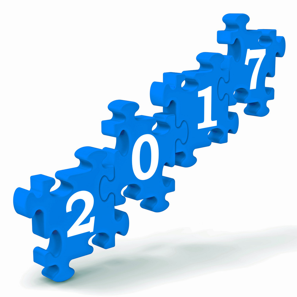 2017 Puzzle Shows Future Year's Resolutions