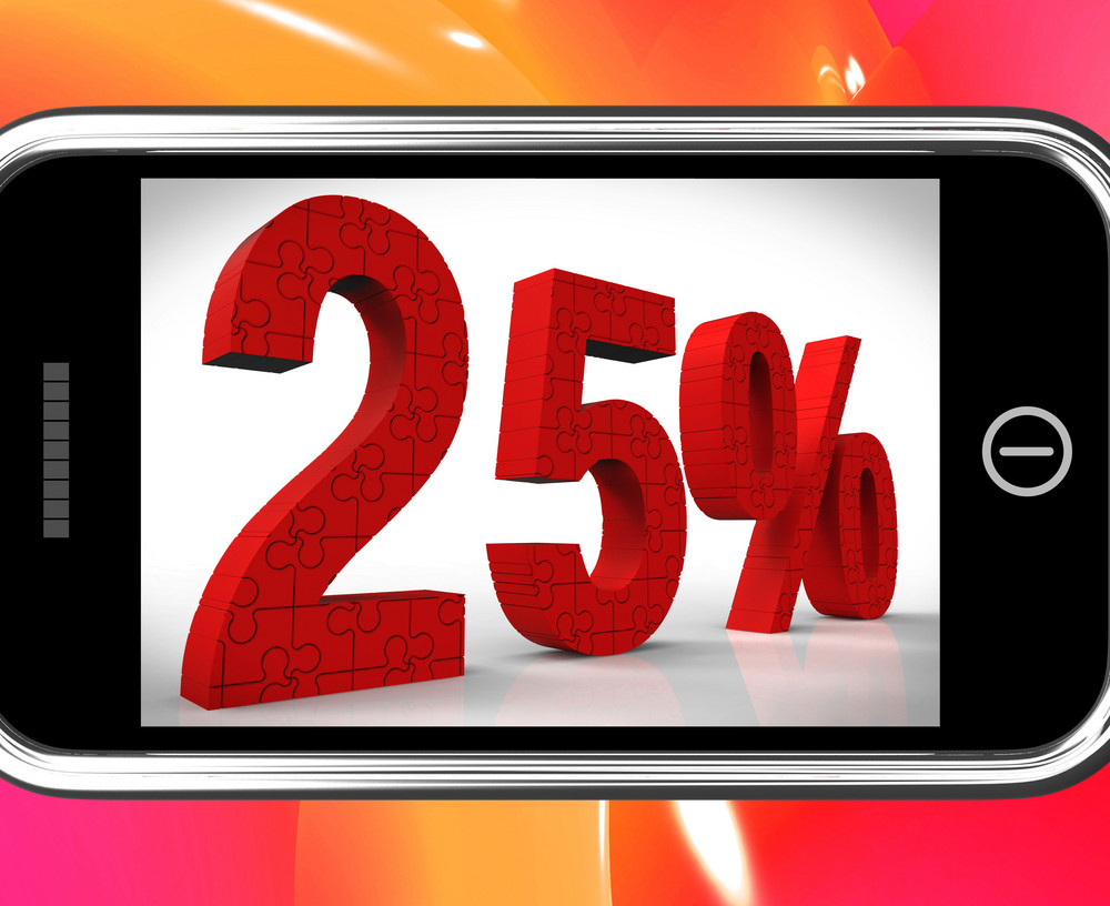 25 On Smartphone Shows Price Reductions And Bargains
