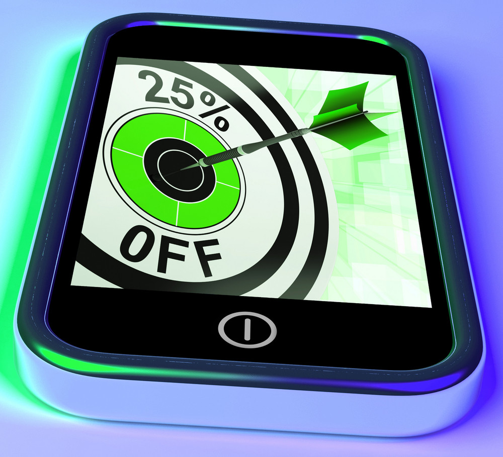 25 Percent Off On Smartphone Shows Selected Discounts