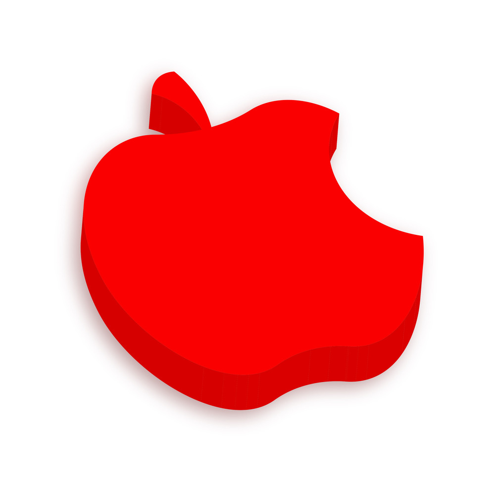 3d Apple Bite