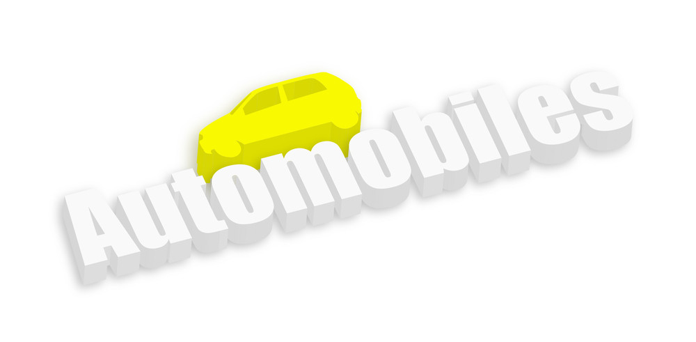 3d Automobile Car Banner