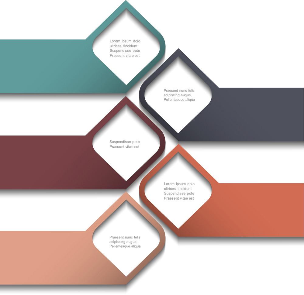 3 차원 배너 디자인 웹 사이트 템플릿