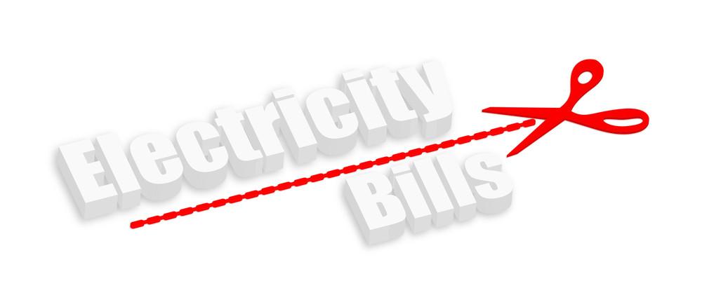 3d Electricity Bills Text