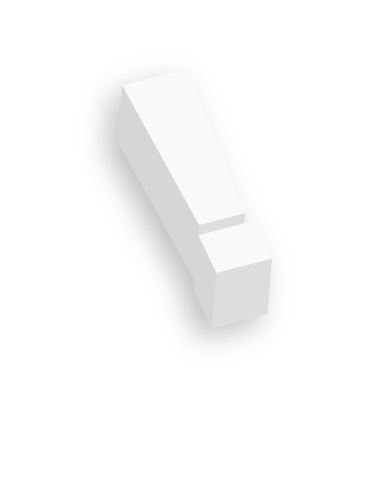 3d Exclamation Mark