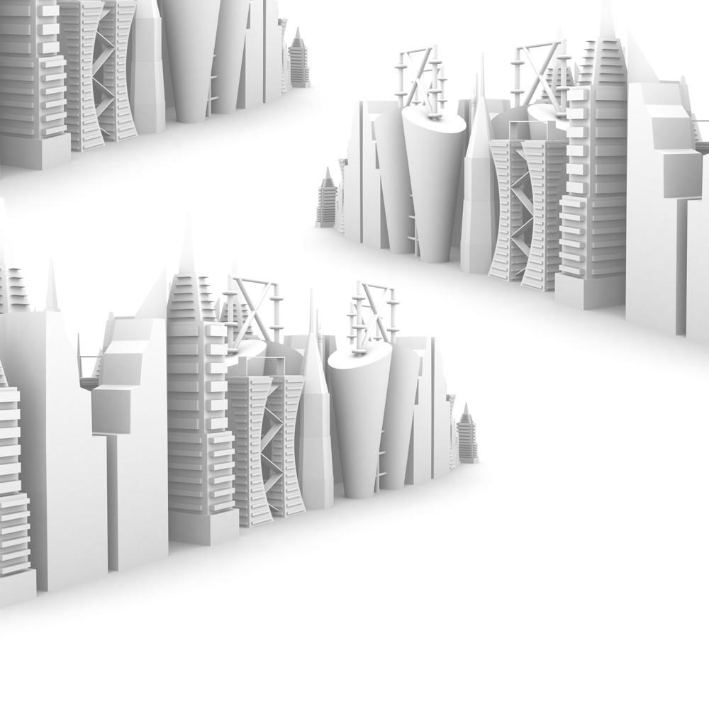 3d Industrial Skylines