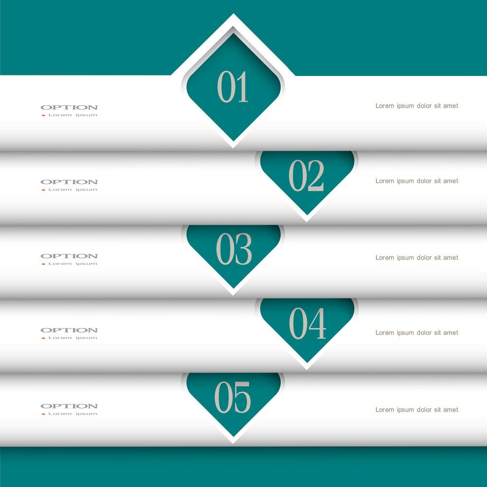 3d Modern White Design Template