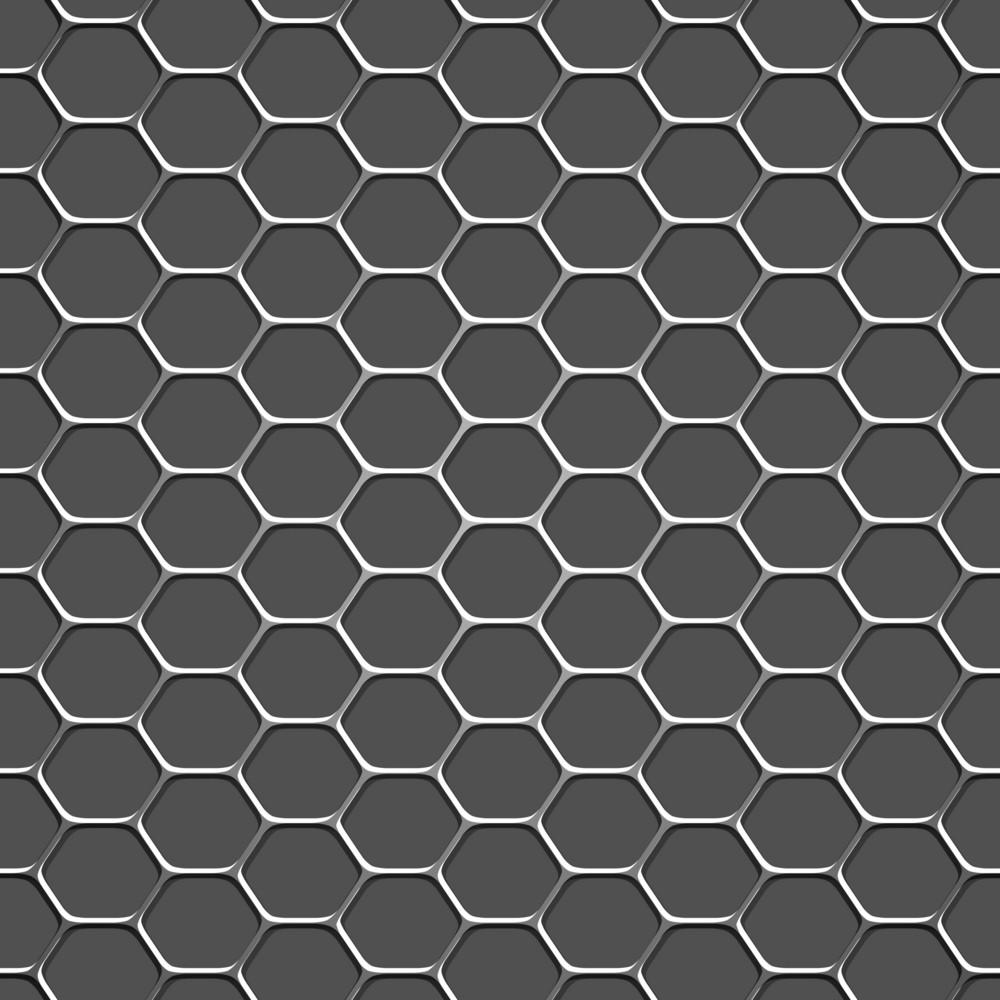 3d Monochromatic Honeycomb Pattern Background