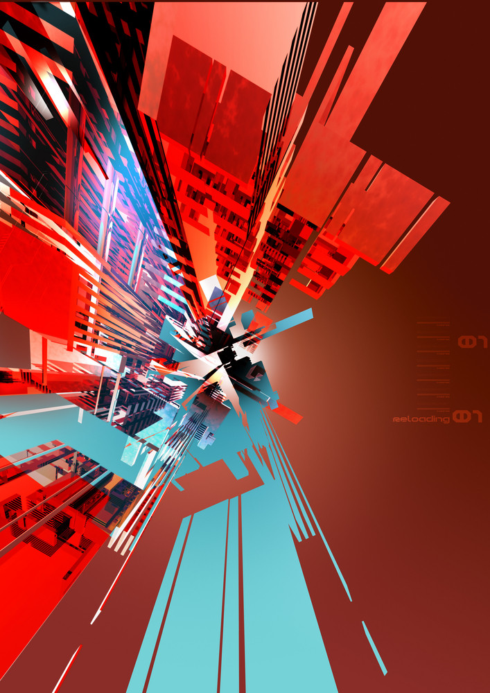 3d Rendered Abstract Background