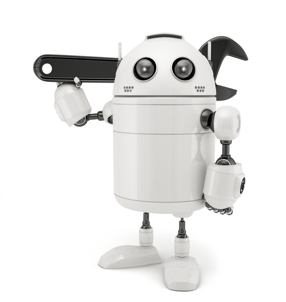 3d Robot With Adjustable Wrench