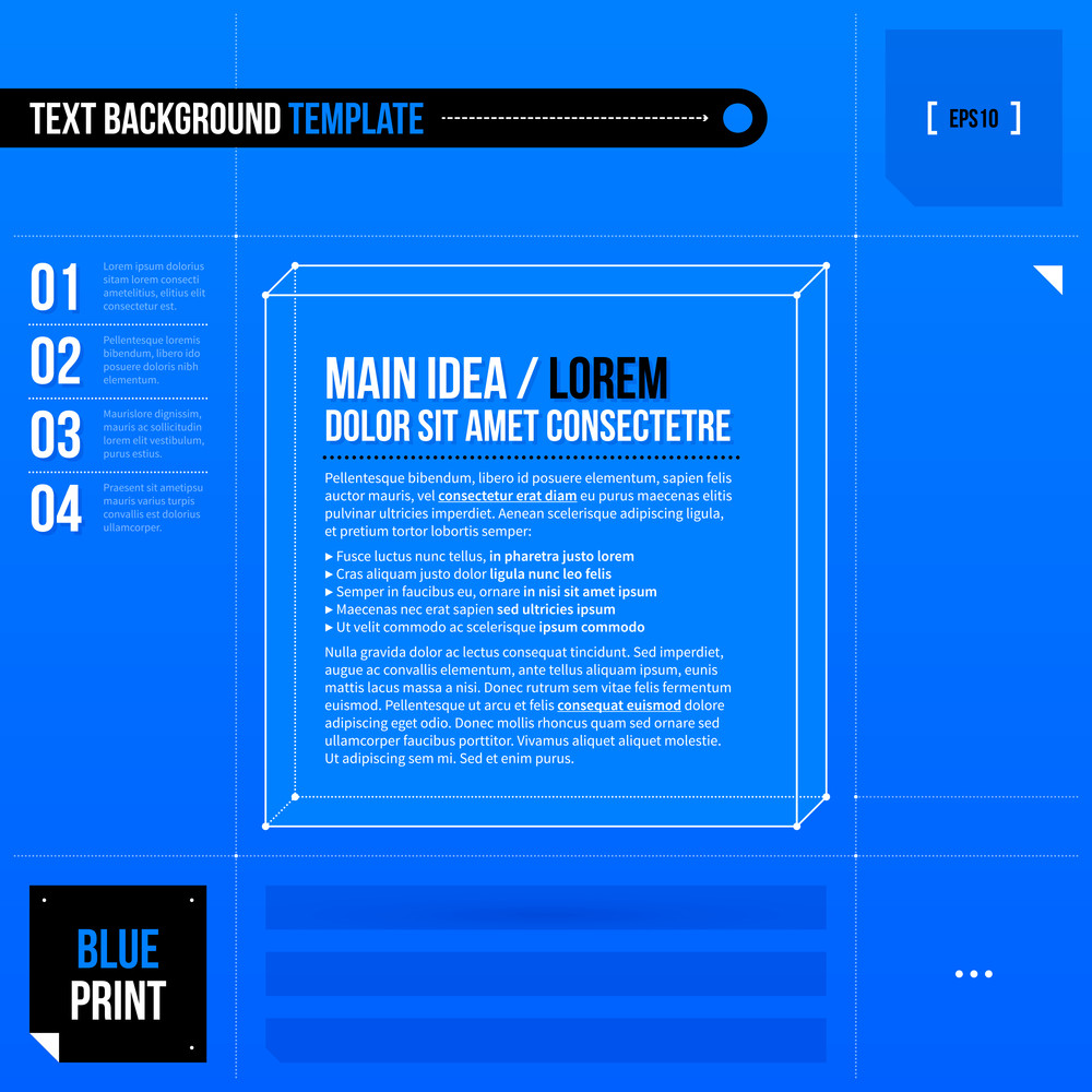 3d text frame in blueprint style eps10 royalty free stock image 3d text frame in blueprint style eps10 malvernweather Images