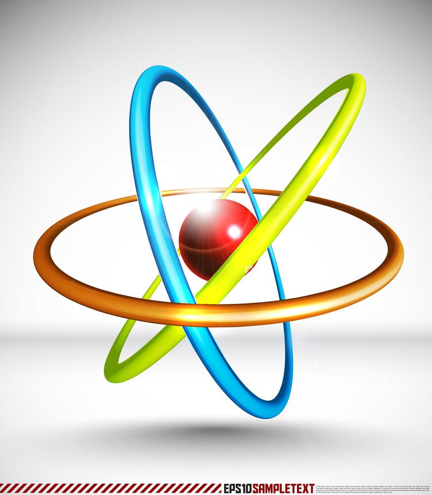 3d Vector Atom