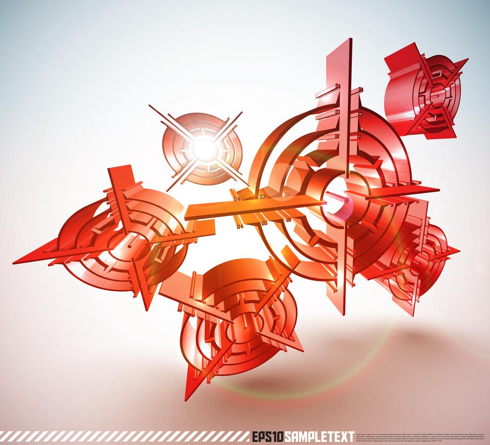 3d Vector Bullseye