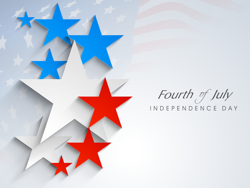 4th Of July American Independence Day Celebrations Concept.