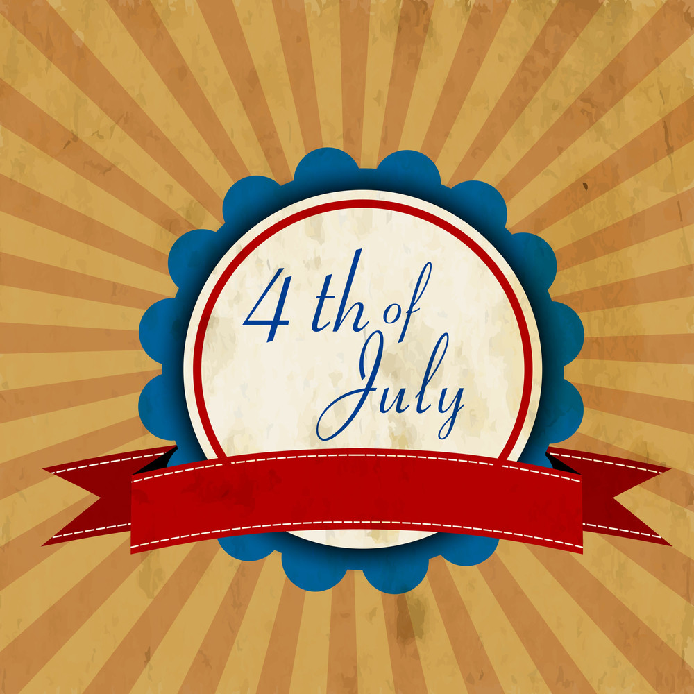 4th Of July American Independence Day Flyer