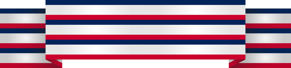 4th Of July Ribbon Banner