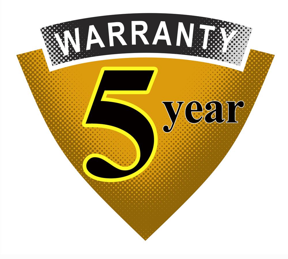 5 Year Warranty Shield