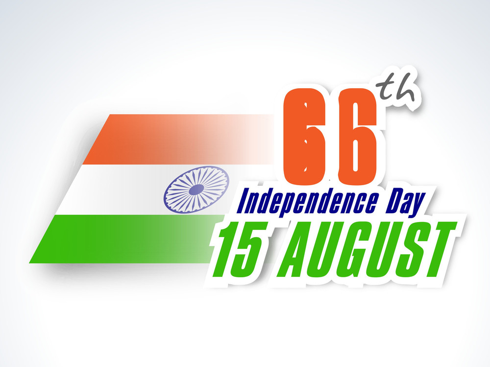 66th Indian Independence Day Background