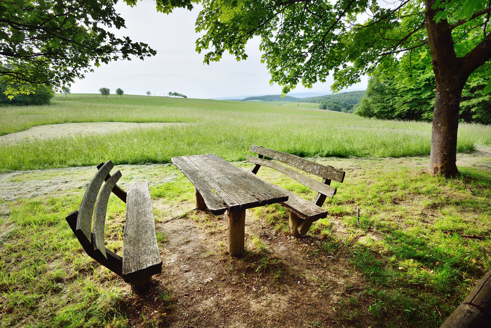 Resting And Dinner Place In The Countryside
