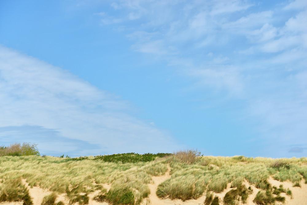 Ocean Coastline In Bretagne