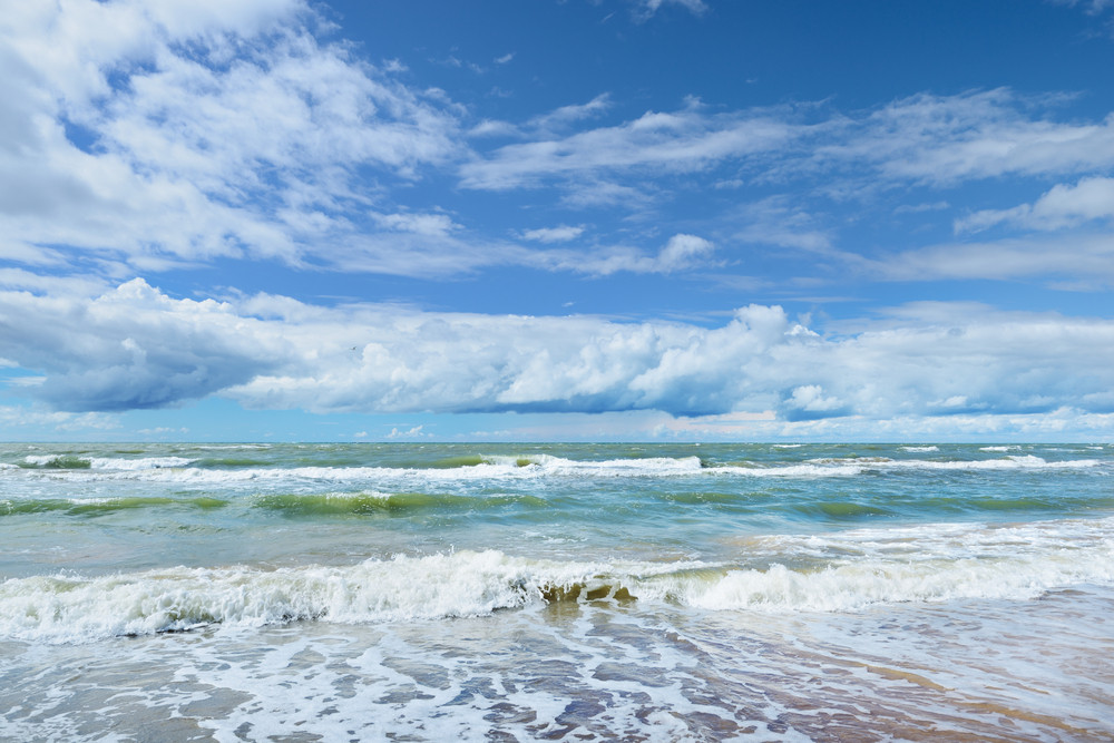 Baltic Sea Shore In Jurkalne