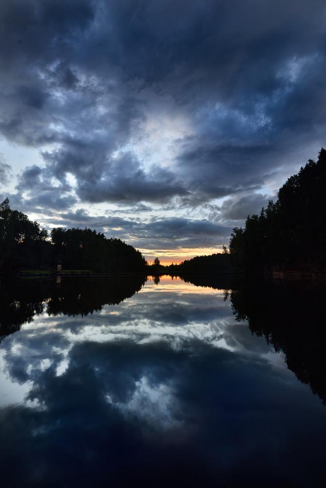 Brasla River In Gauja National Park