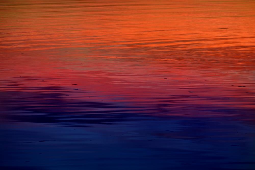 Colorful Sunrise On A Lake