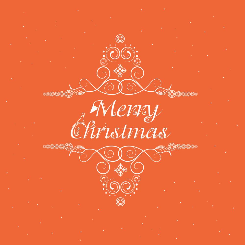 Merry Christmas celebration poster