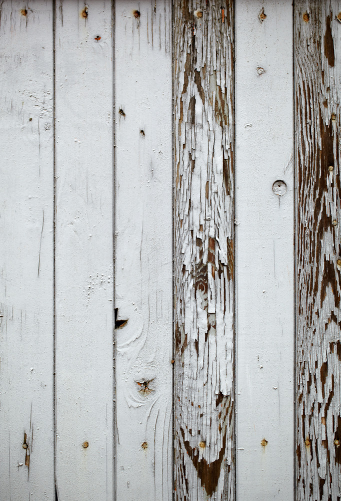 Gray wooden wall  macro shot