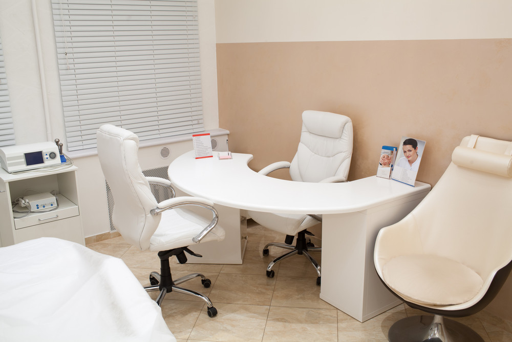 Salon of a beautician and cosmetician
