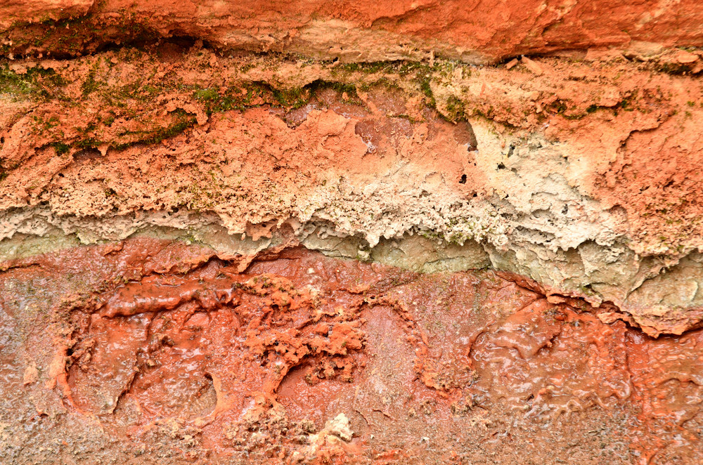 Orange Sandstone Close-up