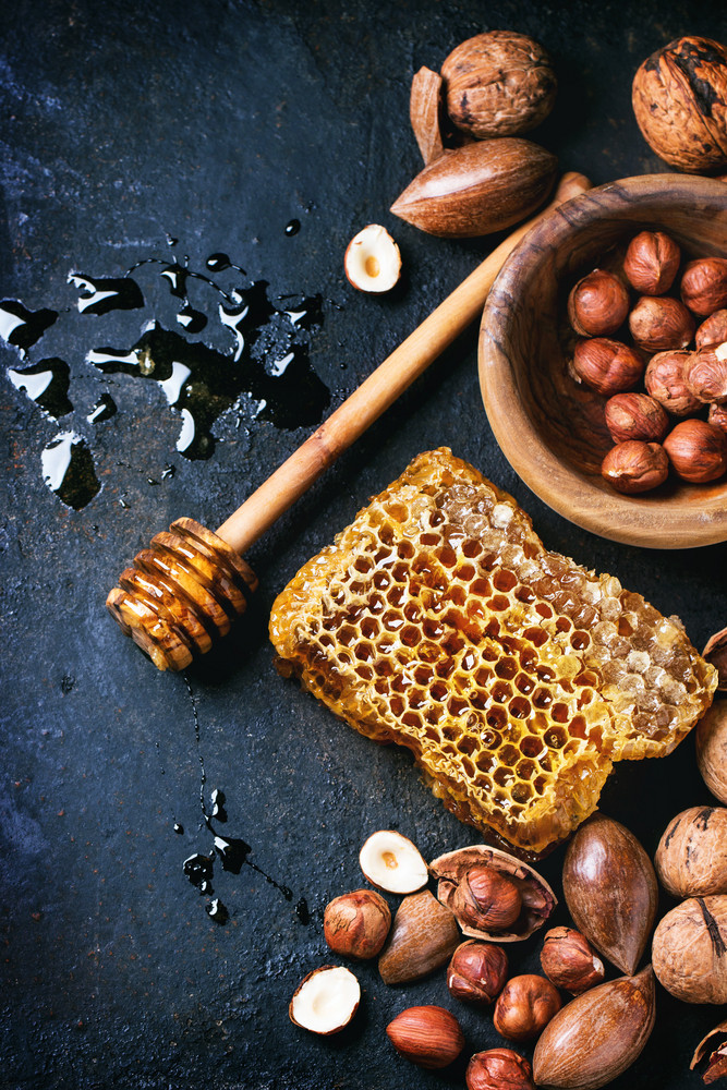 Honeycomb And Nuts