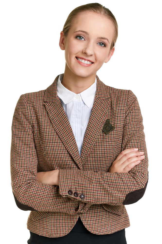 Portrait Of Female Student Looking At Camera With Smile