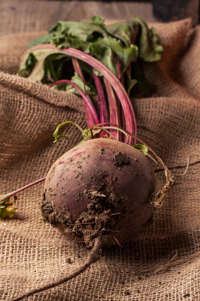 Beetroot On Sackcloth