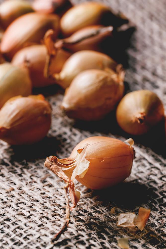 Close Up Of Onion