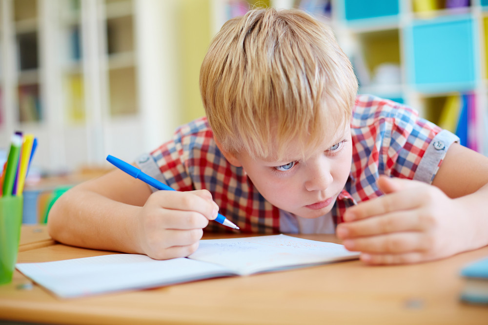 Elementary Learner Cheating At Lesson