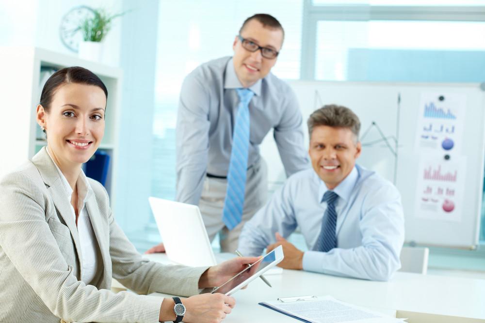 Portrait Of A Modern Business Team