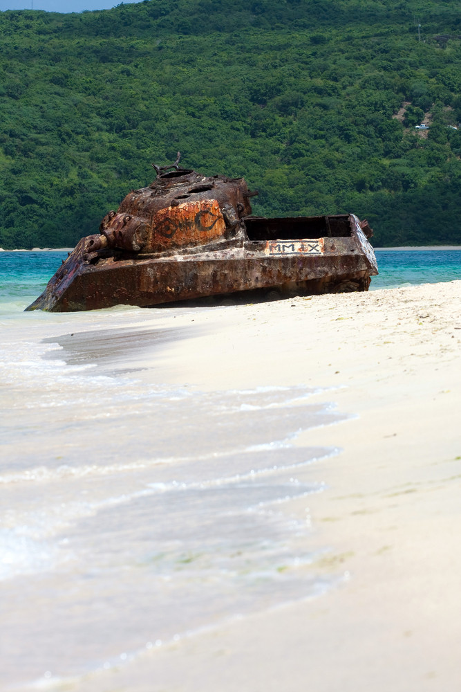 Puerto Rico Flamenco Beach Tank