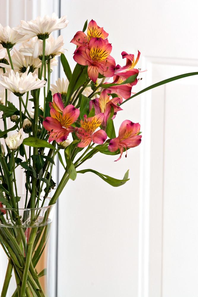 Flower Arrangement with Lillies