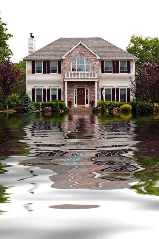 Flood Damaged Home
