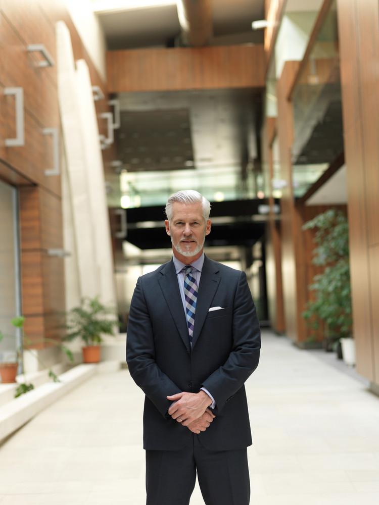 Senior Business Man Portrait