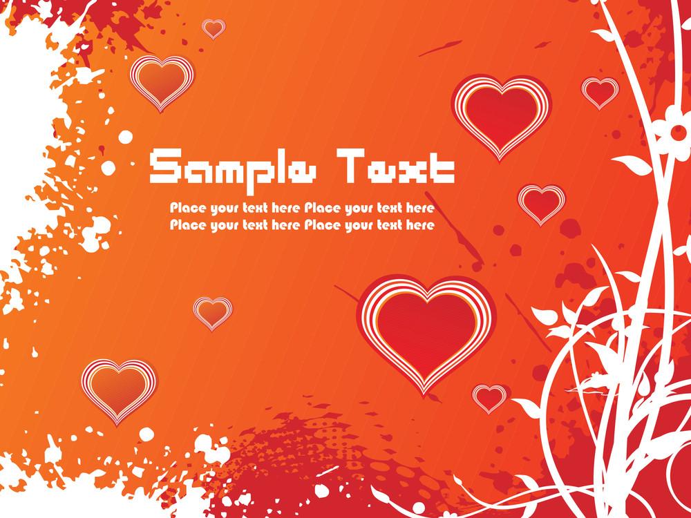 A Beautiful Valentine Card